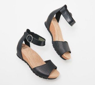 Earth Origins Leather Wedges - Kendra Kane
