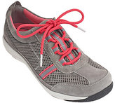 Dansko As Is Suede & Mesh Lace-up Sneakers - Helen