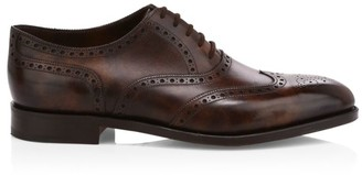 John Lobb Core Stowey Leather Oxford Brogues
