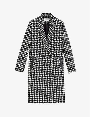 Claudie Pierlot Tailored wool-blend coat