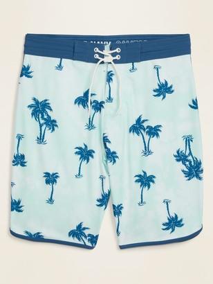 Old Navy Printed Built-In Flex Dolphin-Hem Board Shorts for Men -- 10-inch inseam