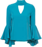 Milly flared sleeved blouse