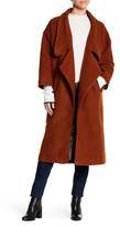 Line & Dot Wren Wool Blend Maxi Coat