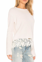 Generation Love Lace Trimmed Sweater