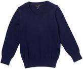 E-Land Kids Navy V-Neck Sweater - Boys