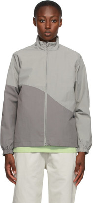 Stussy Grey Curve Jacket