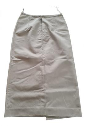 Hermes Beige Linen Skirts