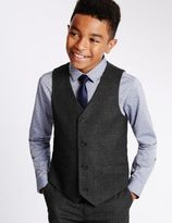 Marks and Spencer Brushed Waistcoat (5-14 Years)