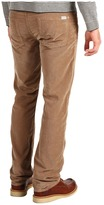 7 For All Mankind Standard Original Straight Shaved Cord (Brown) - Apparel