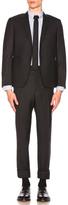Thom Browne Classic Wool Suit in Black.