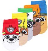 High Point Design Boys Paw Patrol Toddler No Show Socks - 5 Pack