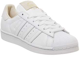 adidas Superstar 1 Trainers White White Crystal White