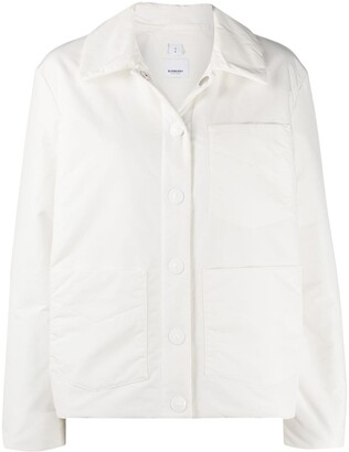 Burberry Button-Up Jacket