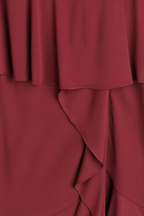 Roberto Cavalli Dress with Ruffles