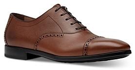 Salvatore Ferragamo Men's Cap Toe Oxford Dress Shoes - Regular
