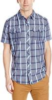 Burnside Men's Detractor Short Sleeve Woven Shirt
