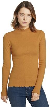 Tom Tailor Women's Rollkragen 1022073 T-Shirt