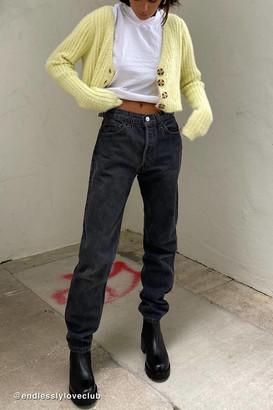 Urban Renewal Vintage Levis Washed Black Jean