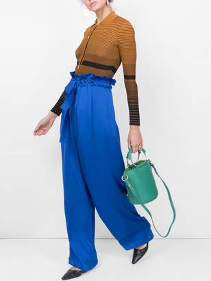 Maison Rabih Kayrouz high-waist flared trousers