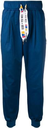Reebok Contrast Drawstring Track Pants