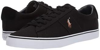 Polo Ralph Lauren Sayer (Black Canvas) Men's Shoes