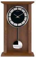 "Oliver Hemming Oakwood Pendulum Clock with Classic Line Dial (12"")"