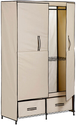 Honey-Can-Do Double Door Storage Closet