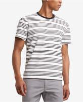 Kenneth Cole Reaction Men's Horizontal Stripe T-Shirt