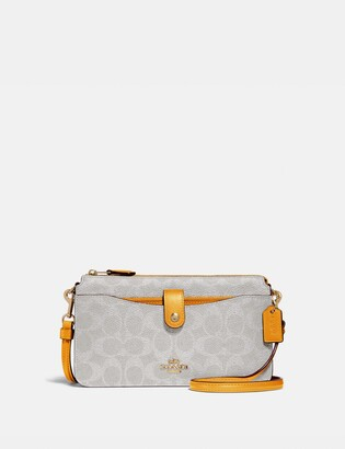 Coach Noa Pop-Up Messenger In Colorblock Signature Canvas