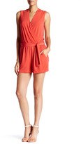 Julie Brown Annabel Surplice Neck Romper