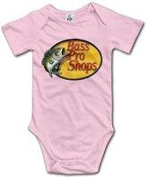 YOG MILK Martin Truex Jr. Bass Pro Shops Infant Baby's Romper Climb Clothes Jumpsuit