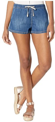 Roxy Go To The Beach Denim Shorts (Medium Blue) Women's Shorts