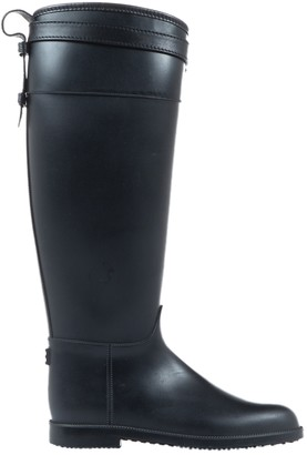 Burberry Black Rubber Boots