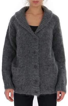 Prada Oversize Button-Up Cardigan