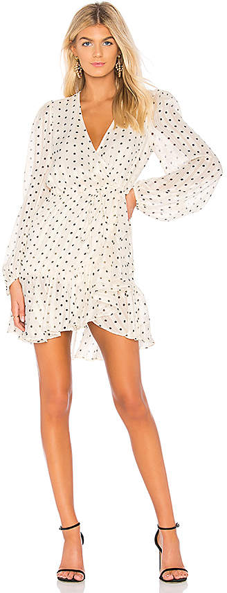 Shona Joy Karina Puff Sleeve Mini Dress