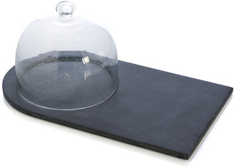 Shiraleah Piedmont Slate Cheese Board With Cloche