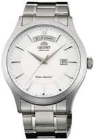 Orient Men's 41mm Steel Bracelet & Case Automatic Dial Analog Watch FEV0V001WH
