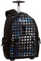 PBteen Gear-Up Preston Plaid Rolling Backpack