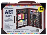Art 101 Art Set in a Wooden Case, 82 pieces - Art101