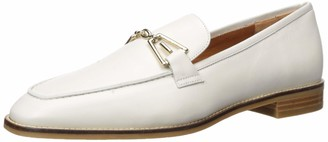 Aquatalia Women's Teodora Calf Loafer Off White 8 M M US