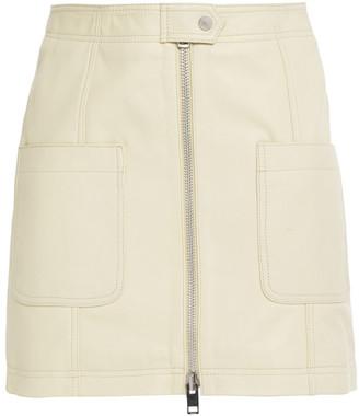 Walter Baker Leather Mini Skirt