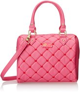 Betsey Johnson LUV BETSEY by Touch My Heart Mini Satchel Handbag