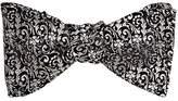 Barneys New York Men's Fleur Mosaic Jacquard Silk Bow Tie