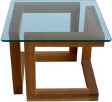 One Kings Lane Vintage Mid-Century Modern Geometric Side Table