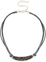 Kenneth Cole New York Sprinkle Stone Bar Frontal Necklace