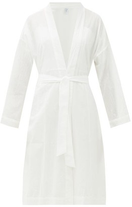 Domi - Organic-cotton Robe - White