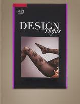 Marks and Spencer Floral Design Tights