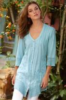 Soft Surroundings Grenada Gauze Shirt