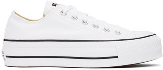 Converse White Chuck Lift Sneakers