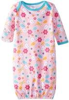 Zutano Friendly Bird Gown (Baby) - Pink-3 Months
